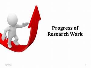 MS Research Progress Presentation
