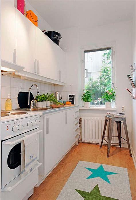 Narrow Kitchen Design Ideas