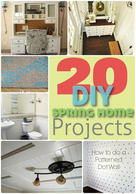 great ideas 20 spring home diy projects