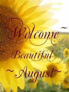 Hello August Birthday Month