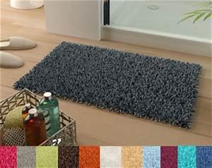 tapis de bain pur coton longues meches 1500 g m2 becquet With tapis ethnique avec petit canapé avec méridienne