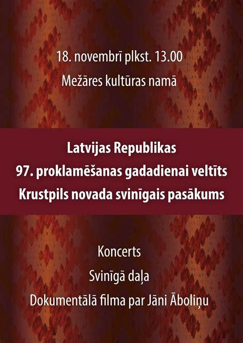 Ar Krustpils novada atzinības un goda rakstiem tiks ...