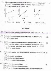 Cbse Class 10 Sa1 Question Papers