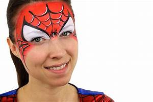 Spider-Man Face Paint Ideas - Easy Tutorial Party