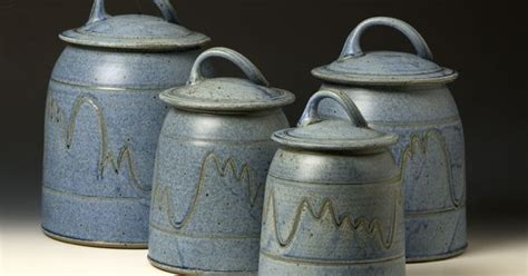 Western Kitchen Canister Sets by Quail Run Pottery Canister Set Western Kitchen