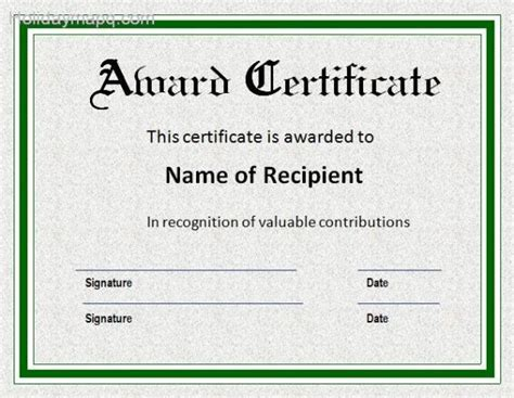award certificate template holidaymapqcom