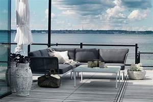 amenager coin lounge sur terrasse avec salon jardin de style With tapis design avec recherche canapé sur le bon coin