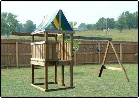 plans  build wooden play fortswing set bonus plans  cd  unique designs ebay