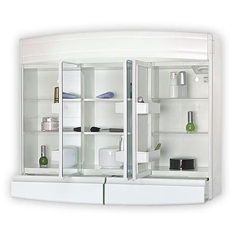 Badezimmer Spiegelschrank Kunststoff by Sieper Topas Eco Wei 223 Spiegelschrank Aus Kunststoff Ma 223 E