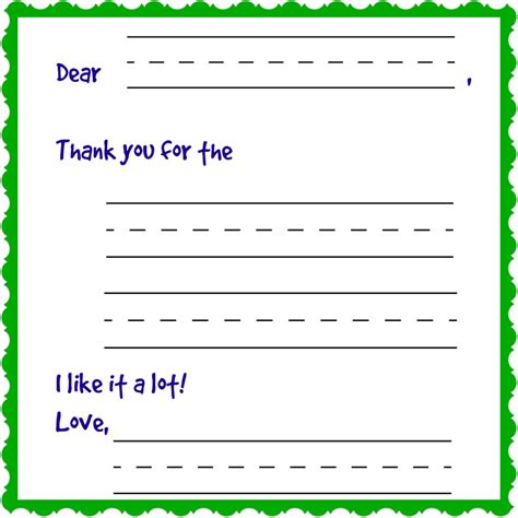 Thank You Note Template Thank You Notes Templates Activity Shelter