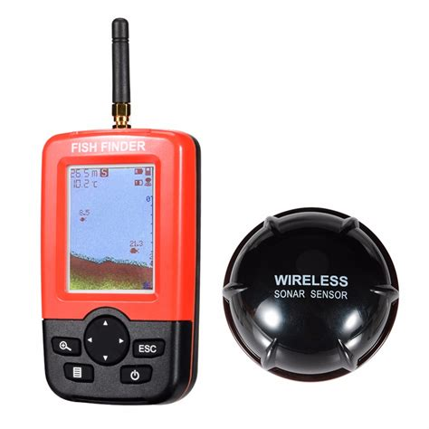 fish finder sonar sensor portable lumiparty smart portable fish finder with 100m wireless