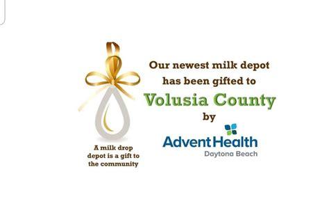 advent health daytona beach dropoff mothers milk bank