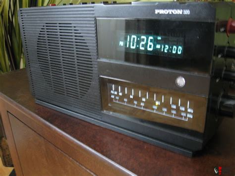 Proton Clock Radio by Proton 320 Clock Radio Hifi Sound Shipping Included