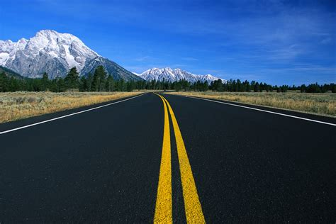 Highway Road Textu HD Wallpaper, Background Images