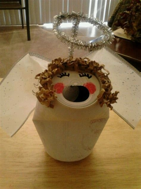 choir angel  recycled diet coke  holiday crafts