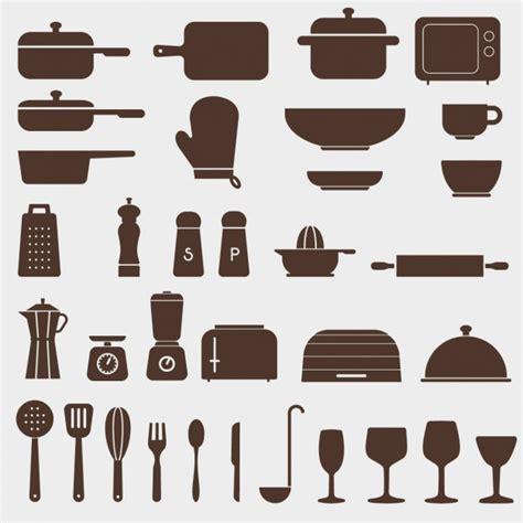 icone cuisine différentes icônes de cuisine télécharger des vecteurs