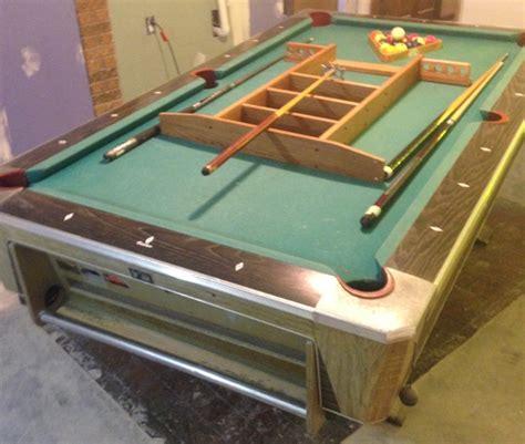 pool tables with ball return for sale sold fisher pool table return ball 52 quot x 92 quot 3 4 quot nex