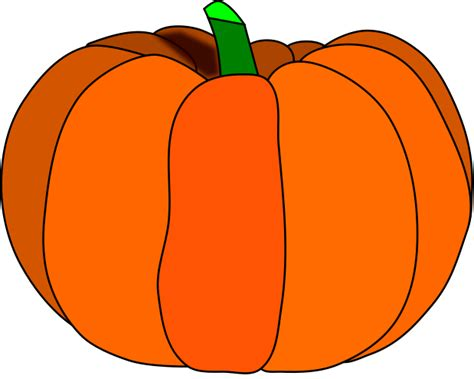 Pumpkins Clipart Free Pumpkin Clipart Printable With Lines Clipart Panda