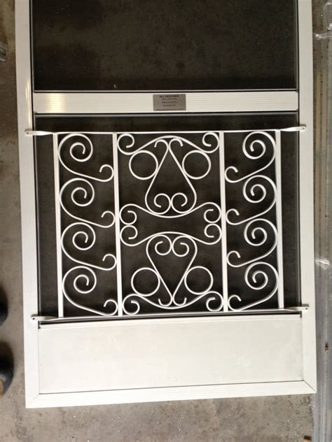 screen door grill screen door grille decorative protective powder coated