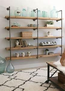 17, Best, Diy, Pipe, Shelves, For, Budget