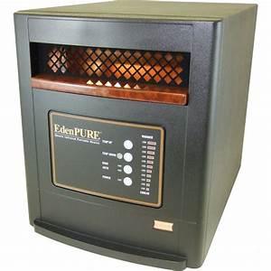 Edenpure A4188  Rtl Us1000 Portable Quartz Infrared Heater