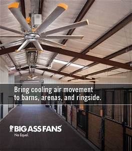 show equine professional company With big barn fans