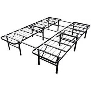 slumber 1 smart base steel bed frame queen size