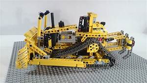 Lego - Technic - 42028 - Bulldozer - Review Deutsch - YouTube