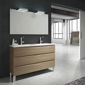 Meuble Salle De Bain Double Vasque Pas Cher : meuble 2 vasque salle de bain pas cher ~ Teatrodelosmanantiales.com Idées de Décoration