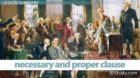elastic clause   constitution definition