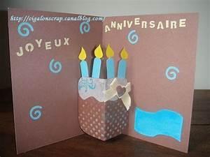Fabriquer Carte Anniversaire : carte anniversaire 27ans pop up cartes pinterest ~ Melissatoandfro.com Idées de Décoration