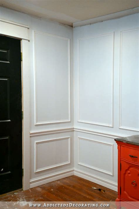 install picture frame molding