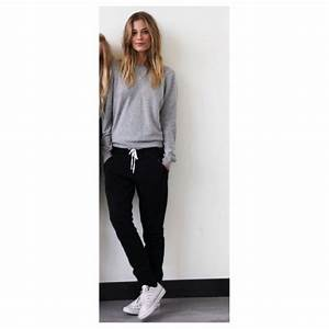 Best 25+ Black joggers ideas on Pinterest | Black joggers outfit Weekend outfit and Minimal style