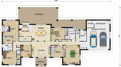 open floor plan house plans one best open floor house plans open floor plans one