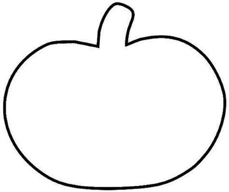 Pumpkin Template Pumpkin Shape Outline Free Design Templates