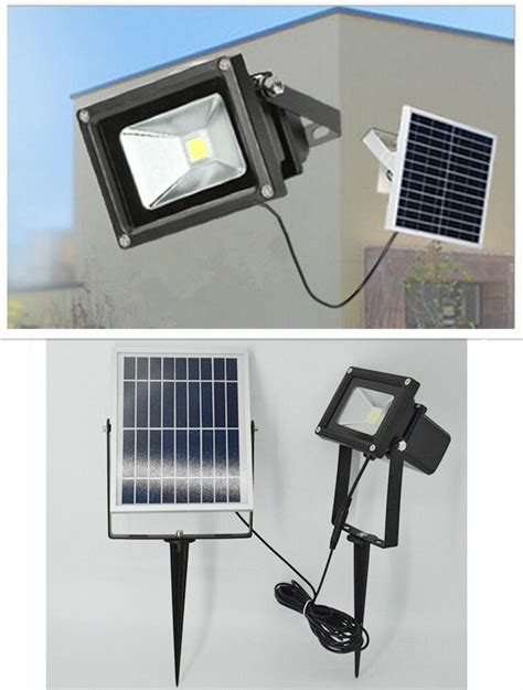 led solar powered dusk  dawn waterproof outdoor path