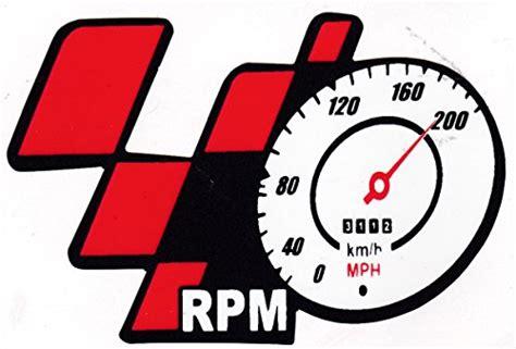 [clear Sticker G094] Motogp Rpm Km/h Mph Speed Meter