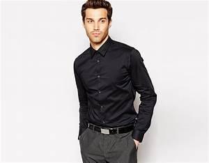 Chemise Jean Noir Homme : comment porter la chemise noire look mode ~ Melissatoandfro.com Idées de Décoration