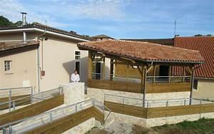 Fermer Une Terrasse Couverte : la salle des f tes s 39 agrandit d 39 une terrasse couverte charente ~ Melissatoandfro.com Idées de Décoration
