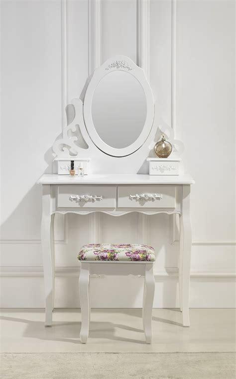 siege coiffeuse magnifique coiffeuse miroir et siège table de maquillage