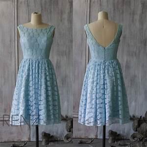 2015 light blue lace bridesmaid dress blue wedding dress With light blue lace wedding dress