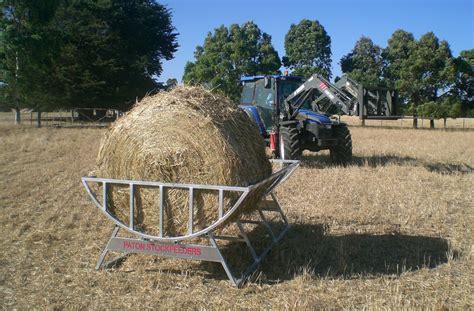 hay feeders for paton livestock equipment hay cradle 2 5m cattle