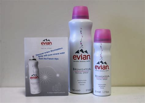 Evian® Spray (my Recent Beauty Must Have