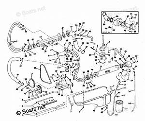 Omc Sterndrive Parts 225hp Oem Parts Diagram For Cooling  U0026 Oiling Group 225  U0026 245 Hp Stern Drive