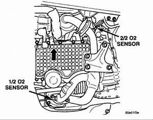 2001 Dodge Stratus Diagram  I Am Throwing Error Code P0154