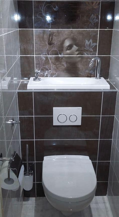 Wc Lave Intégré Combi Wc Suspendu Avec Vasque Lave Mains Wici Bati M G 90 Anglais Bathroom Toilet