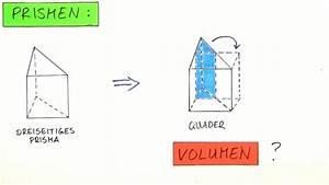 Volumen Von Körpern Berechnen : volumen von prismen mathematik online lernen ~ Themetempest.com Abrechnung