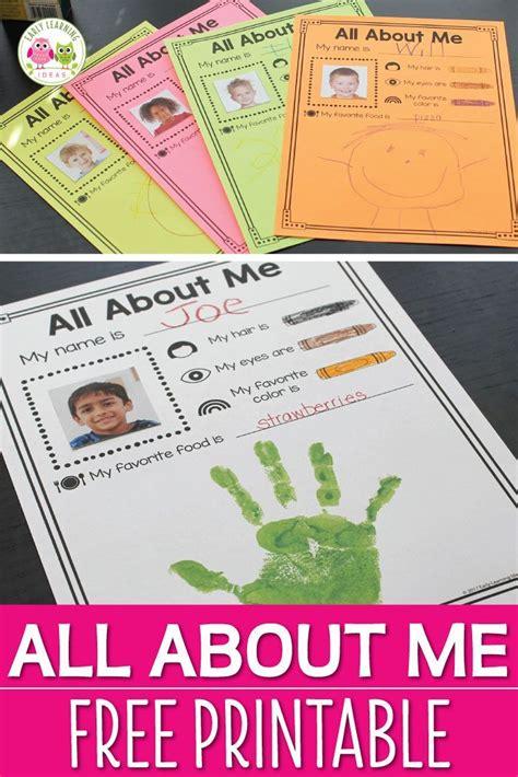 allen main memorial preschool all about me에 관한 상위 25개 이상의 아이디어 372
