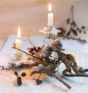 Weihnachtsdeko Natur Ideen Zum Selbermachen : kreative weihnachtsdeko selbst gemacht bl tenrausch ~ Orissabook.com Haus und Dekorationen