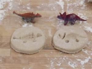 Salt Dough Dinosaur Fossils | Kids Stuff | Pinterest